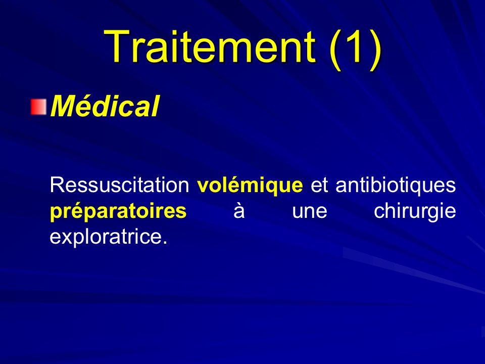 Traitement (1) Médical.