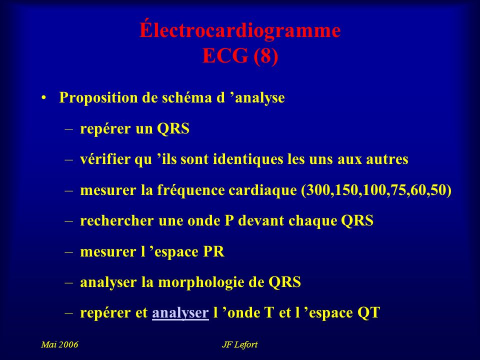 Électrocardiogramme ECG (8)