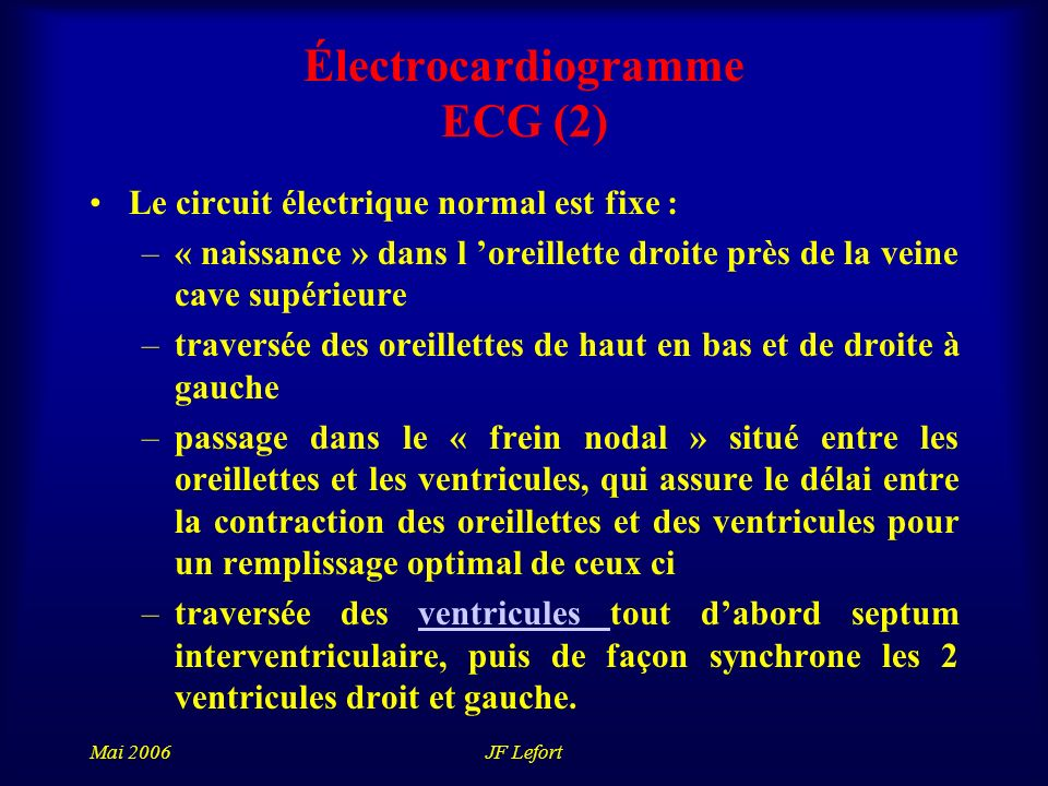 Électrocardiogramme ECG (2)