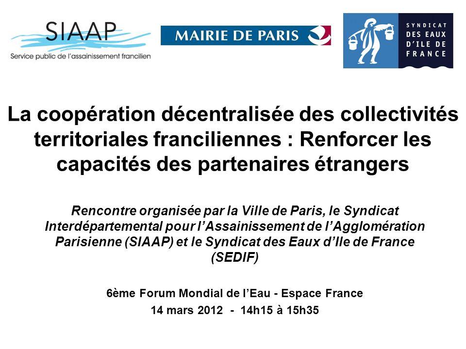 6ème Forum Mondial de l'Eau - Espace France