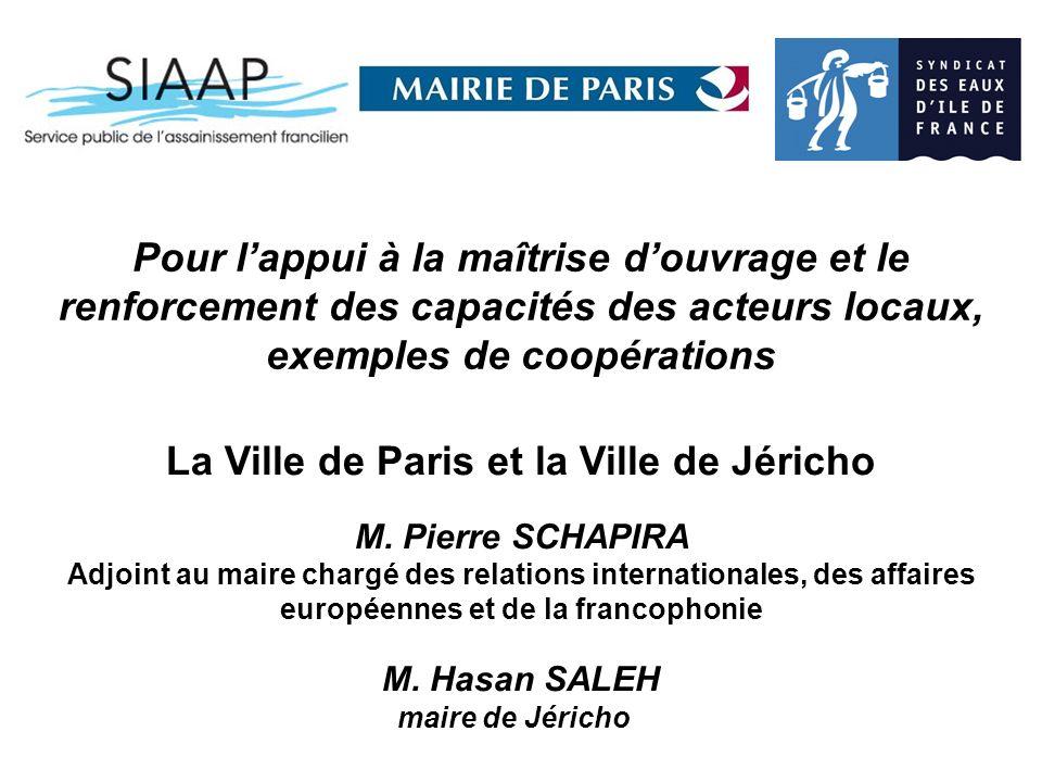 La Ville de Paris et la Ville de Jéricho