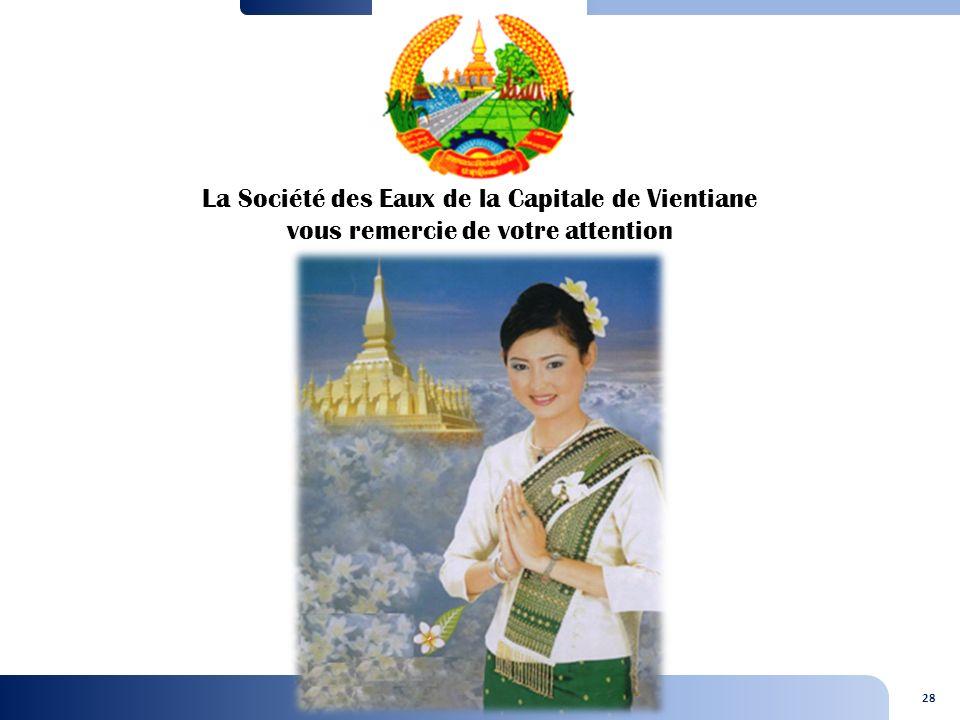 La Société des Eaux de la Capitale de Vientiane vous remercie de votre attention