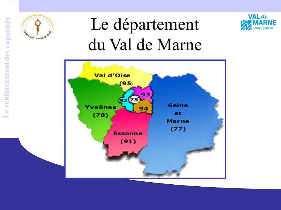 Le Département du Val de Marne