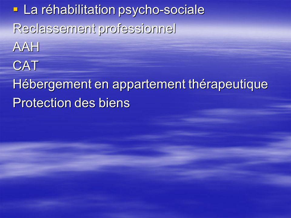 La réhabilitation psycho-sociale