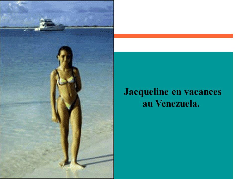 Jacqueline en vacances