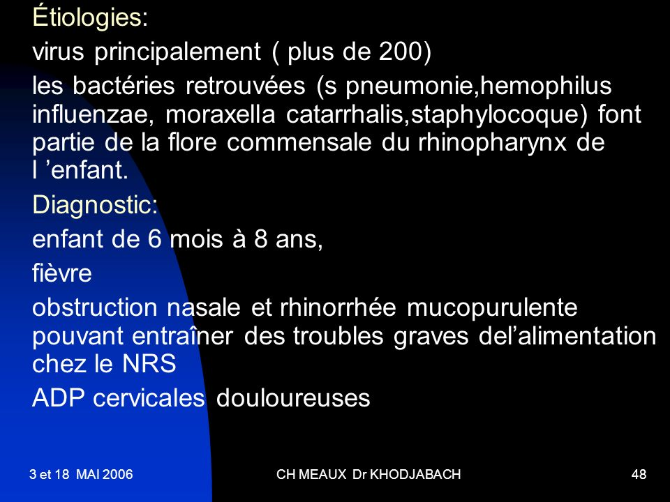 virus principalement ( plus de 200)
