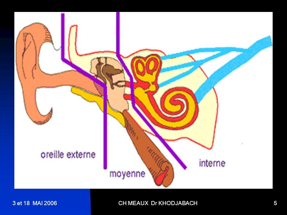 3 et 18 MAI 2006 CH MEAUX Dr KHODJABACH