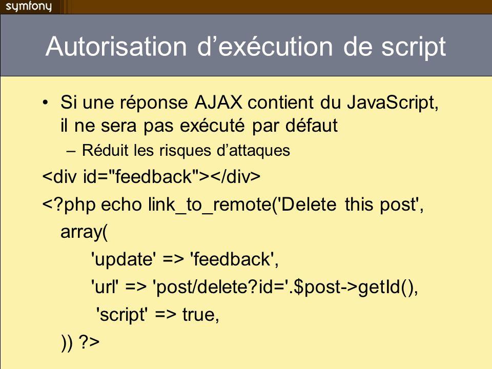 Autorisation d'exécution de script