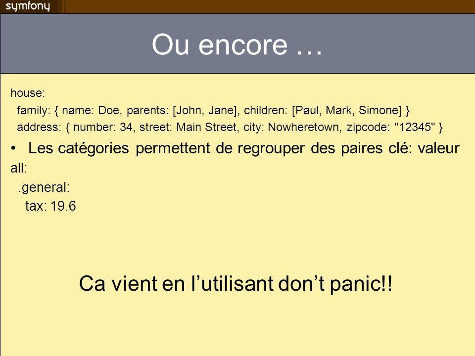 Ca vient en l'utilisant don't panic!!