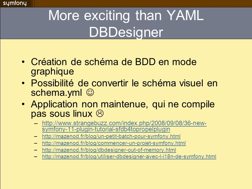 More exciting than YAML DBDesigner