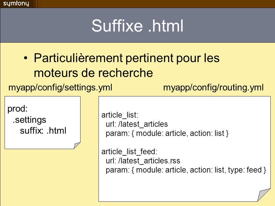 Suffixe .html Particulièrement pertinent pour les moteurs de recherche