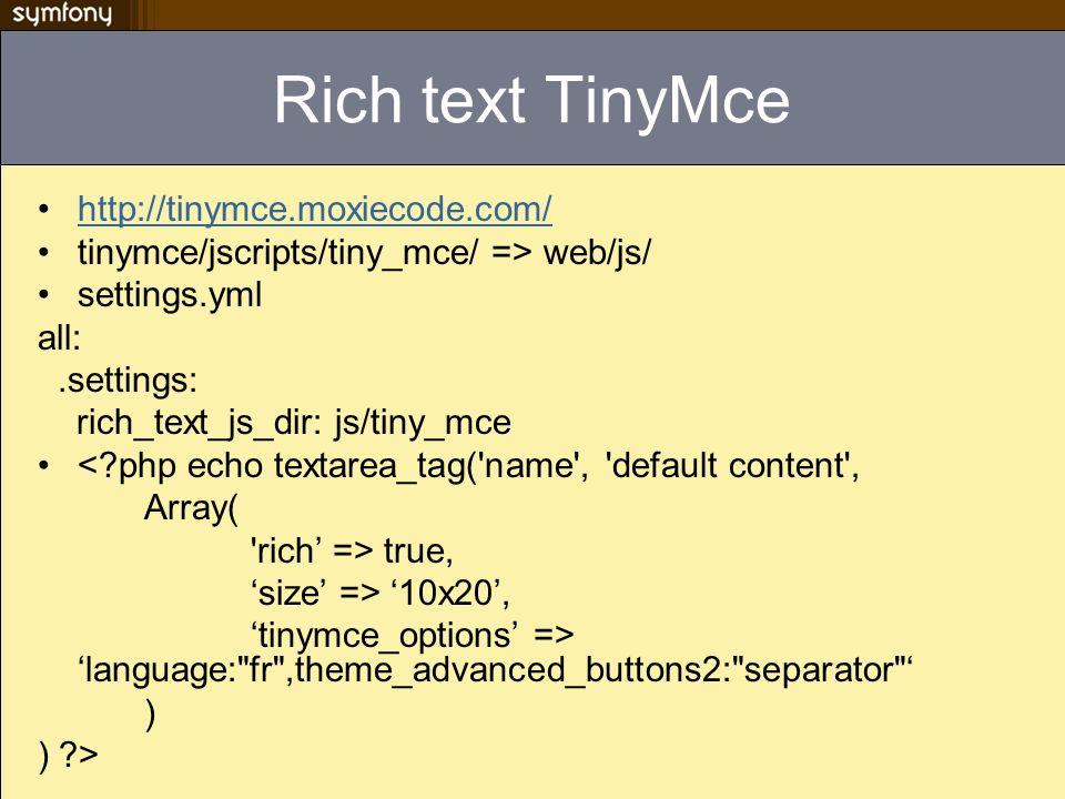 Rich text TinyMce http://tinymce.moxiecode.com/