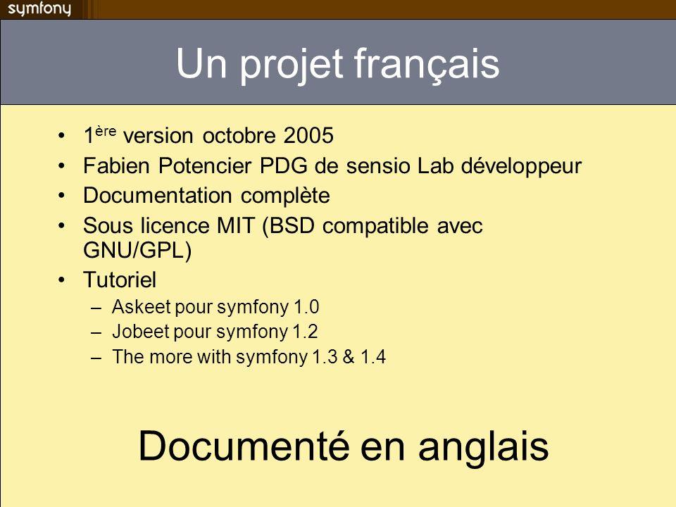 Un projet français Documenté en anglais 1ère version octobre 2005