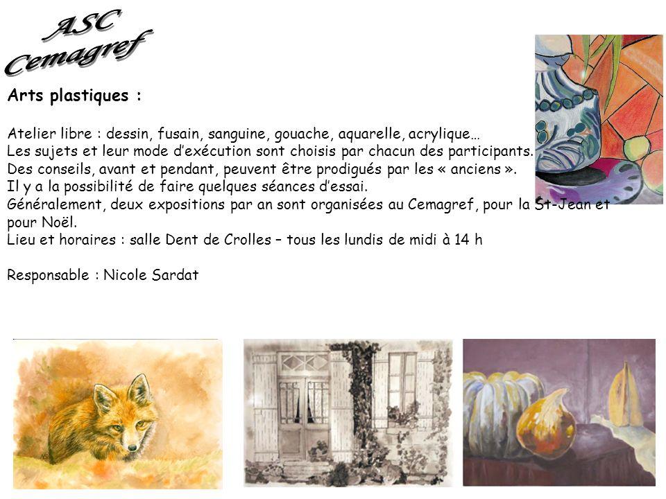 ASC Cemagref Arts plastiques :