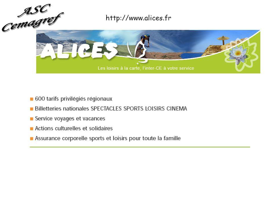 ASC Cemagref http://www.alices.fr