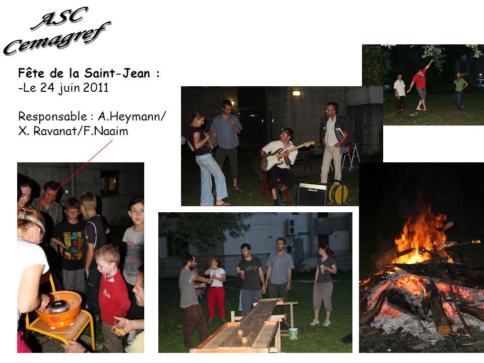 ASC Cemagref Fête de la Saint-Jean : Le 24 juin 2011