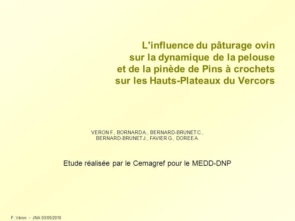 Etude réalisée par le Cemagref pour le MEDD-DNP