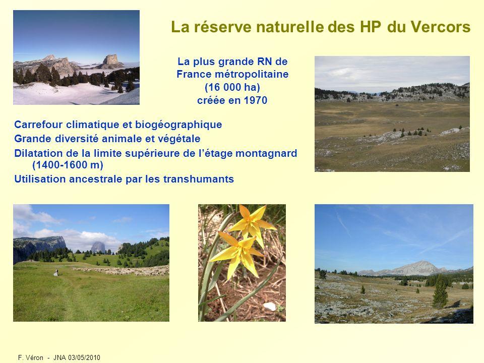 La réserve naturelle des HP du Vercors