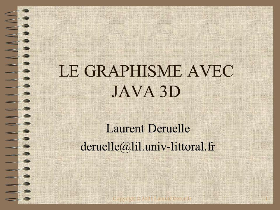 LE GRAPHISME AVEC JAVA 3D
