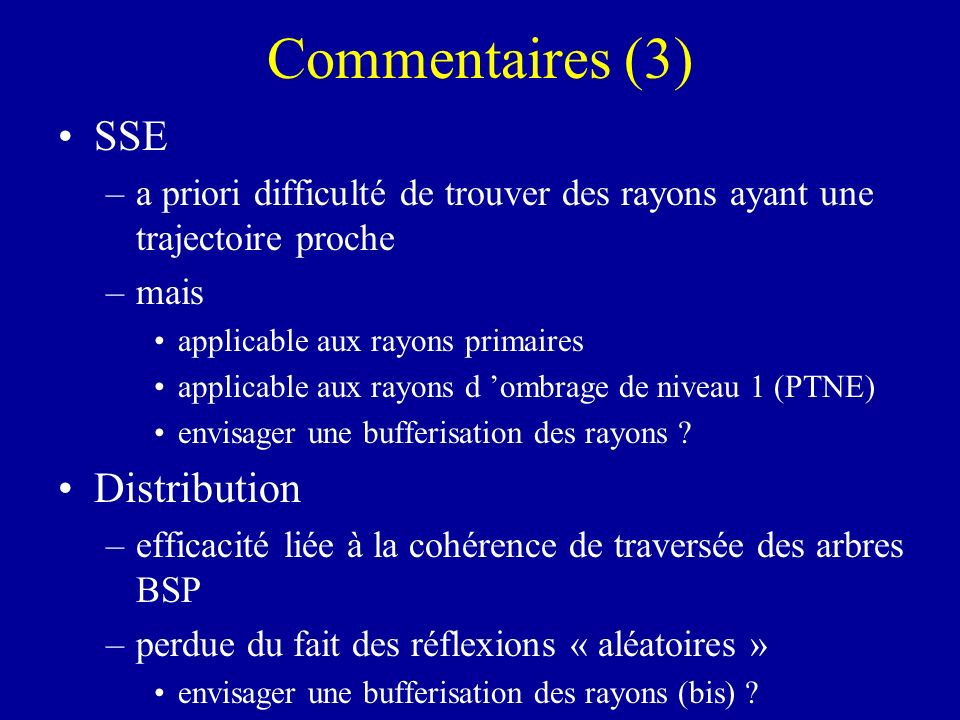 Commentaires (3) SSE Distribution