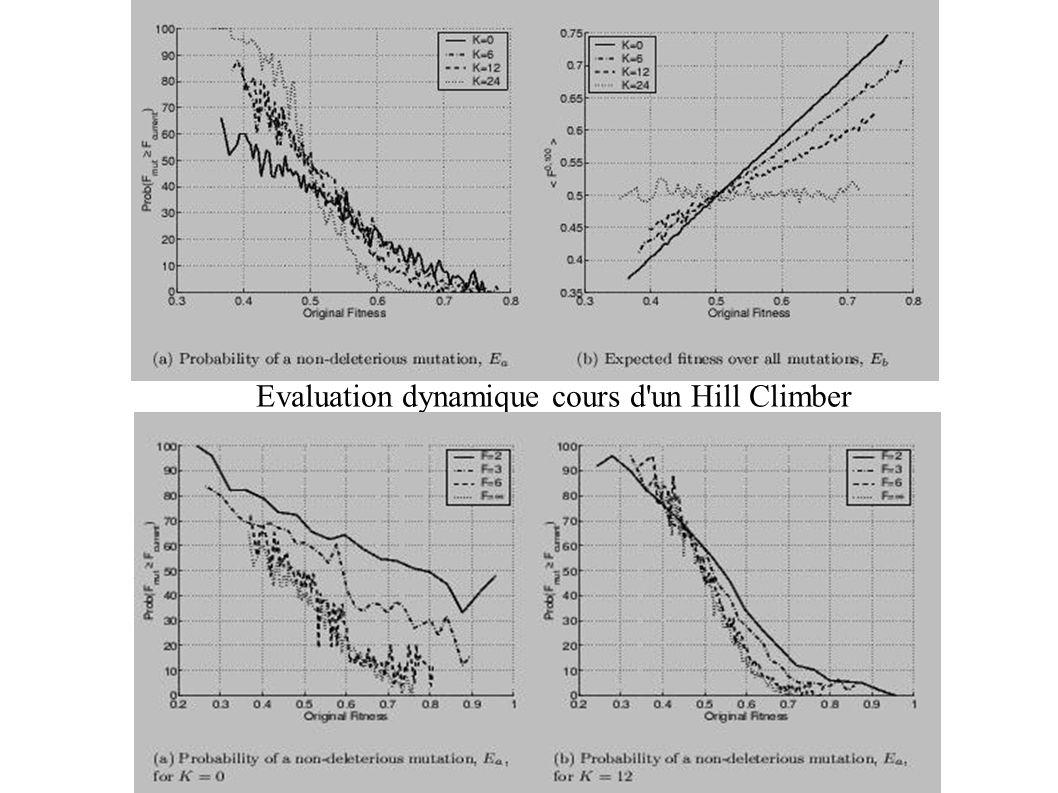 Evaluation dynamique cours d un Hill Climber
