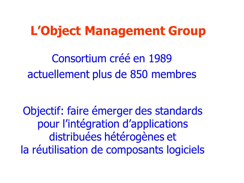 L'Object Management Group
