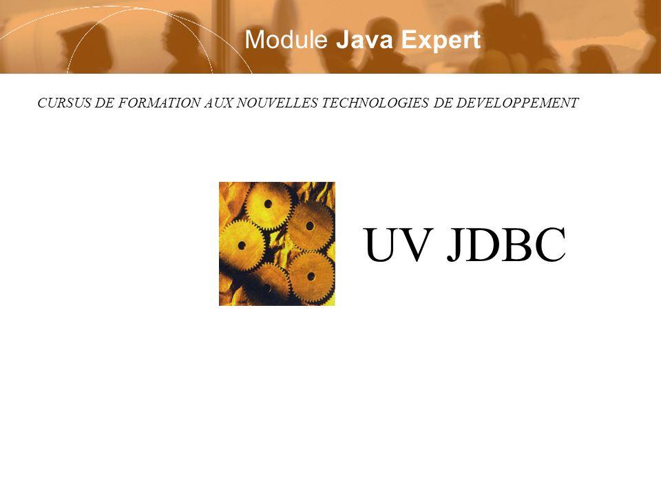 UV JDBC Module Java Expert