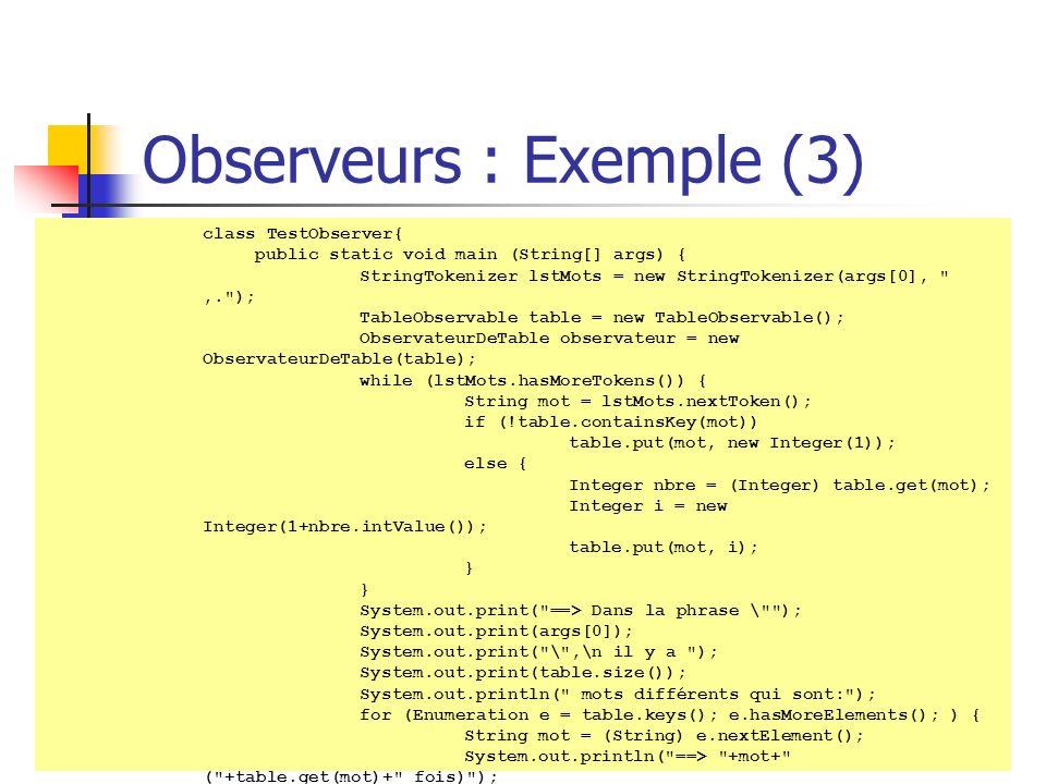 Observeurs : Exemple (3)