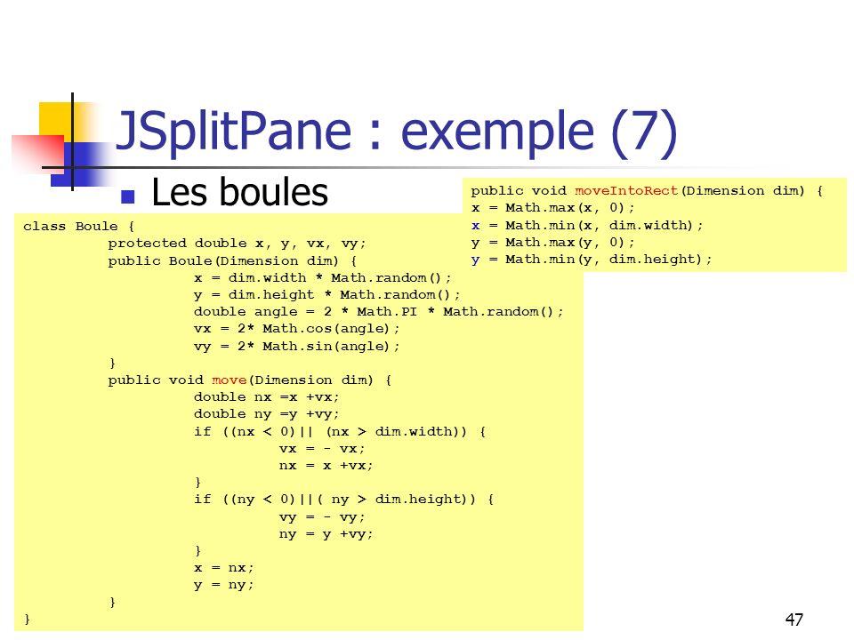 JSplitPane : exemple (7)
