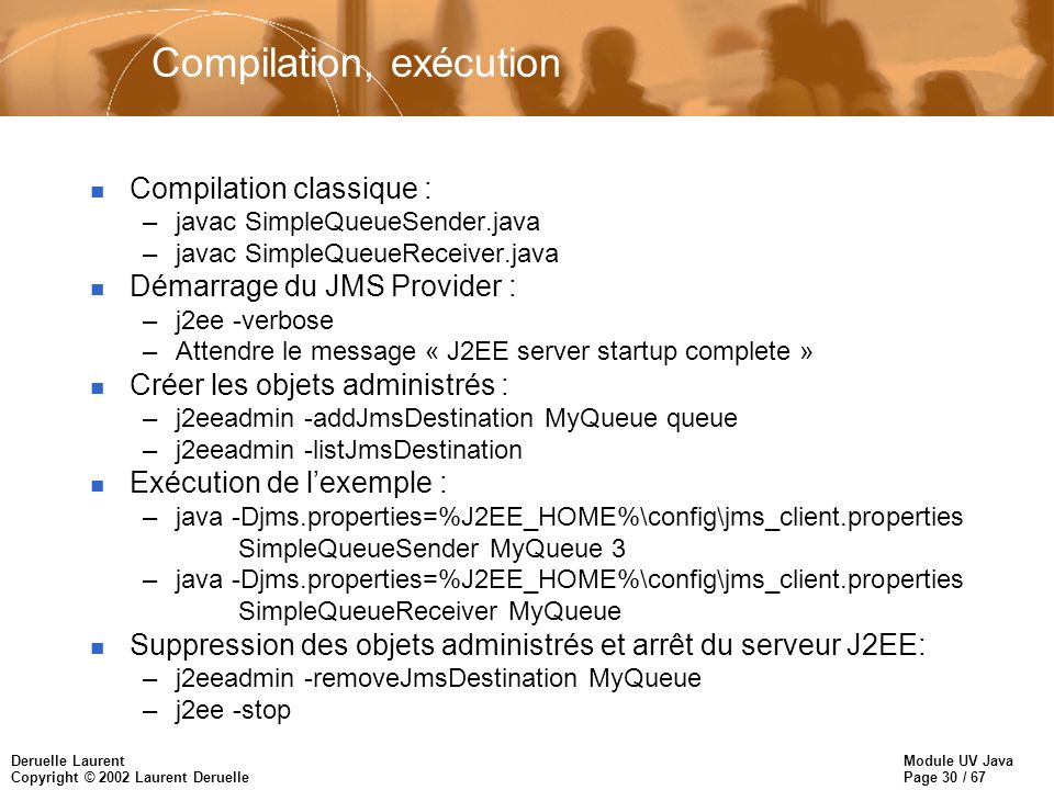 Compilation, exécution