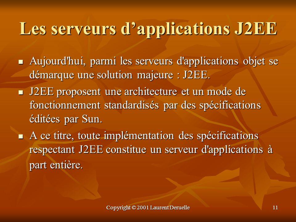Les serveurs d'applications J2EE