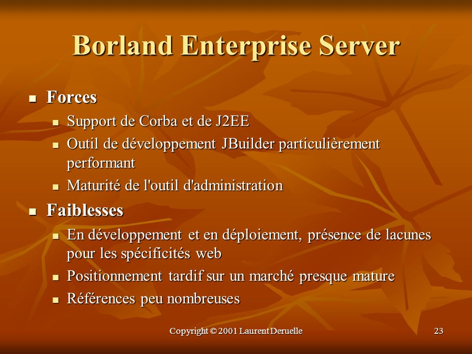 Borland Enterprise Server