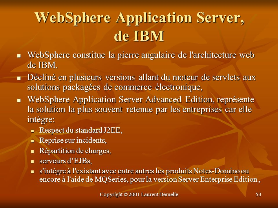 WebSphere Application Server, de IBM