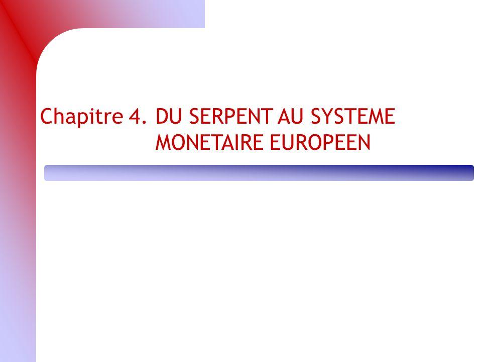 Chapitre 4. DU SERPENT AU SYSTEME MONETAIRE EUROPEEN