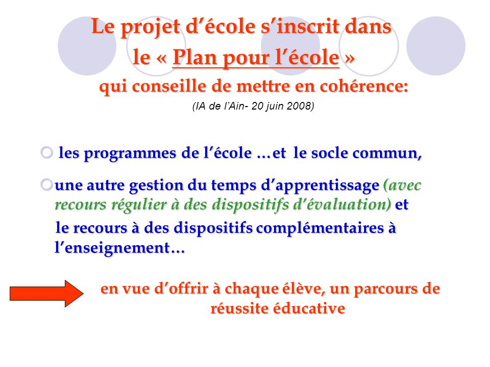 le projet d u2019ecole ien de belley  octobre ppt video online t u00e9l u00e9charger