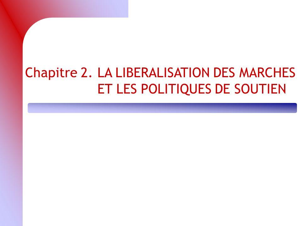 Chapitre 2. LA LIBERALISATION DES MARCHES ET LES POLITIQUES DE SOUTIEN