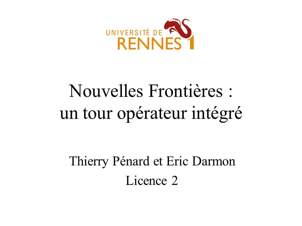 Nouvelles Frontières : un tour opérateur intégré