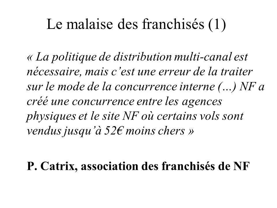 Le malaise des franchisés (1)