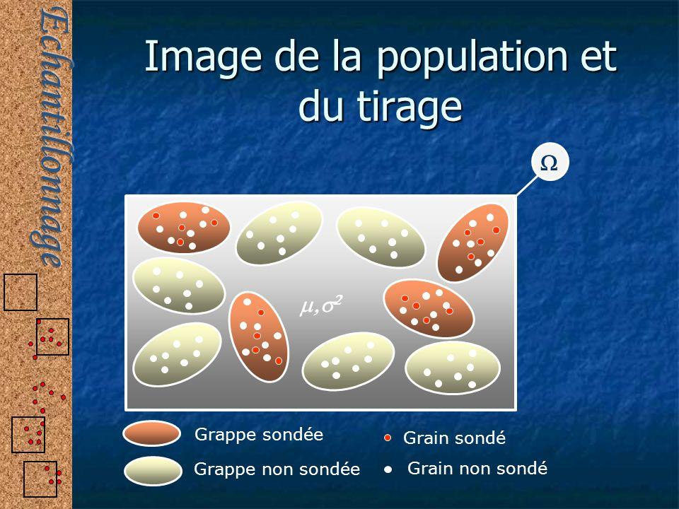 Image de la population et du tirage