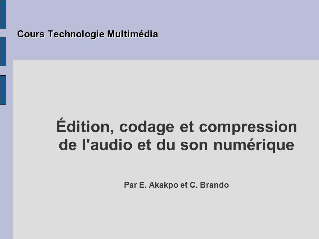 Cours Technologie Multimédia
