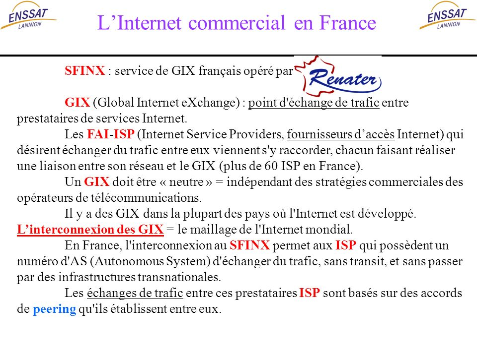 L'Internet commercial en France