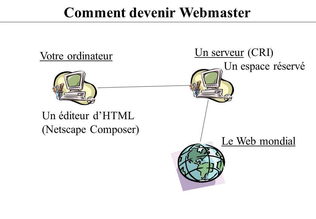 Comment devenir Webmaster