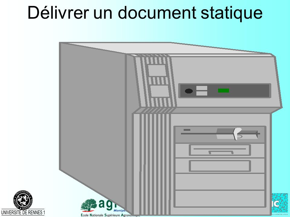 Délivrer un document statique