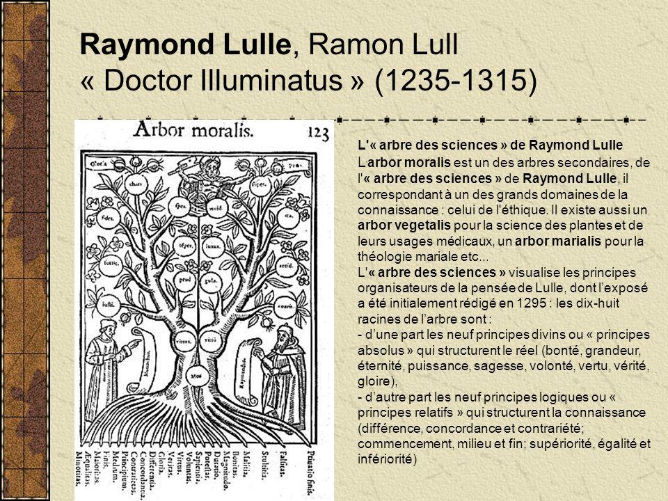 Raymond Lulle, Ramon Lull « Doctor Illuminatus » (1235-1315)