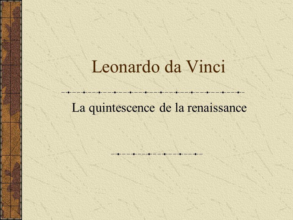 La quintescence de la renaissance