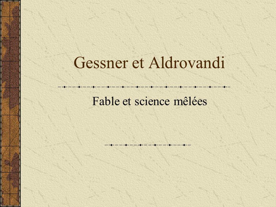 Fable et science mêlées