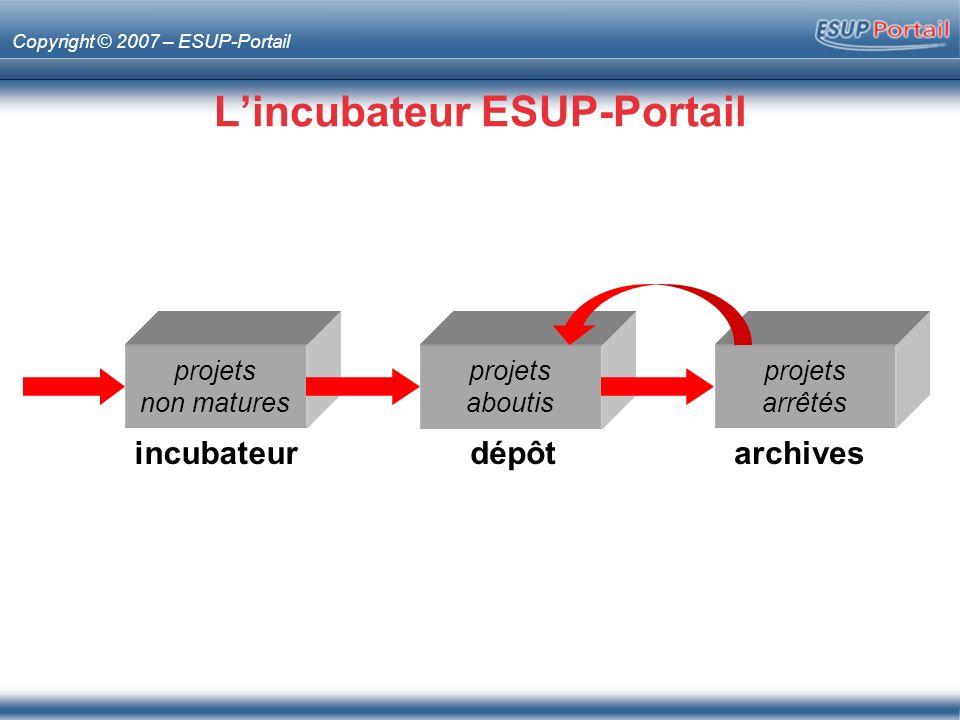 L'incubateur ESUP-Portail