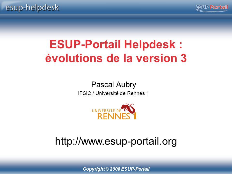 ESUP-Portail Helpdesk : évolutions de la version 3