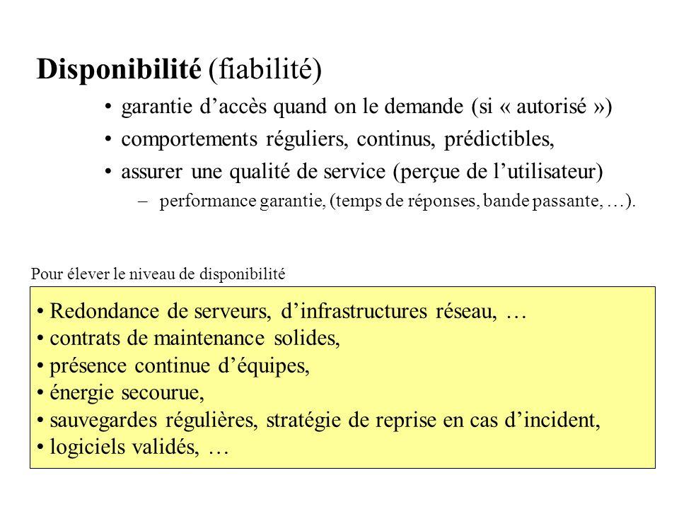 Disponibilité (fiabilité)