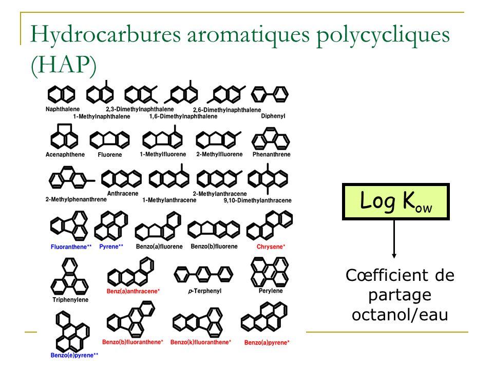 Hydrocarbures aromatiques polycycliques (HAP)